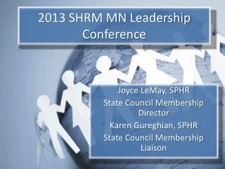2013 SHRM MN Leadership Conference