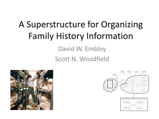 A Superstructure for Organizing Family History Information