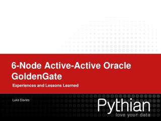6-Node Active-Active Oracle  GoldenGate