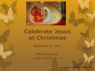 Celebrate Jesus  at Christmas