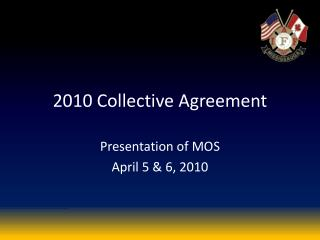 2010 Collective Agreement