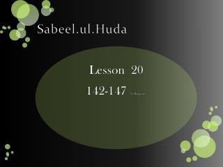 Sabeel.ul.Huda