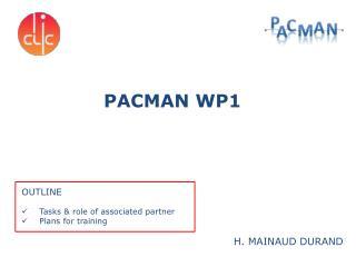 PACMAN WP1