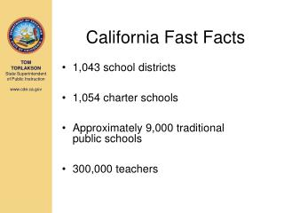 California Fast Facts