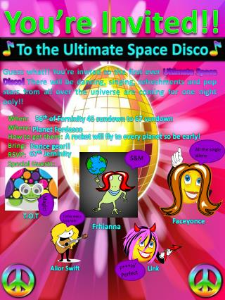 To the Ultimate Space Disco