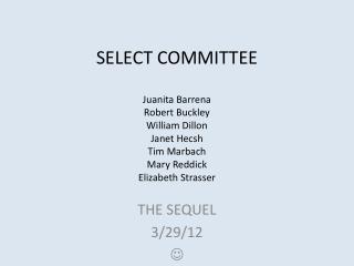 THE SEQUEL 3/29/12  