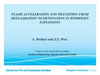 Flame acceleration and transition from deflagration to detonation in hydrogen explosions