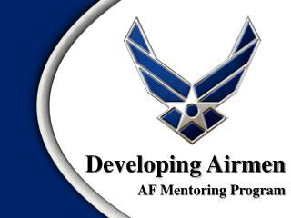 Developing Airmen