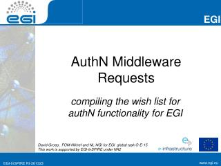 AuthN  Middleware Requests
