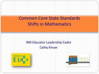 Common Core State Standards  Shifts in Mathematics