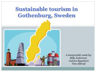 Sustainable tourism  in  Gothenburg, Sweden