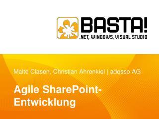 Malte Clasen, Christian Ahrenkiel  |  adesso AG