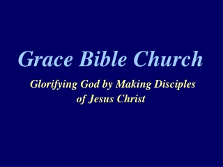 Spiritual Gifts - Introduction  1 Corinthians 12:1-3