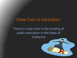 State Cuts to Education