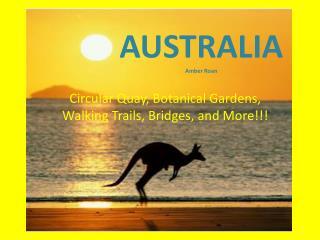 AUSTRALIA Amber Roan