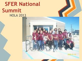SFER National Summit