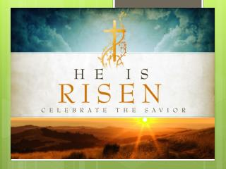 The Right Response to the  Resurrection of Jesus
