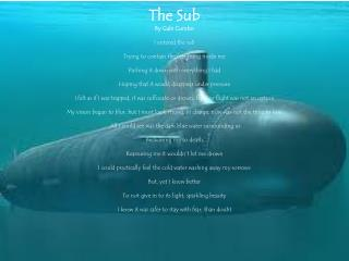 The Sub By Gabi  Cumbo I entered the sub Trying to contain the fear rising inside me