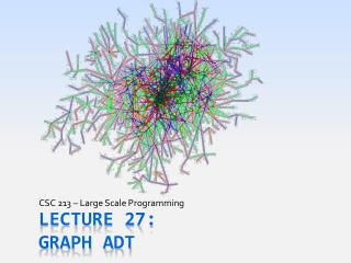 Lecture 27: Graph ADT