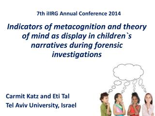 7th  iIIRG  Annual Conference 2014