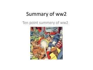 Summary of ww2