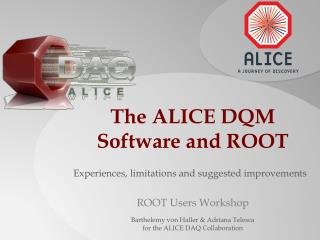 The ALICE DQM Software and ROOT