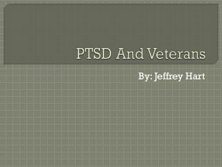 PTSD And Veterans