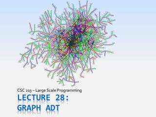Lecture 28: Graph ADT