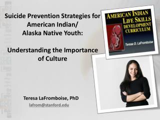 Teresa LaFromboise, PhD lafrom@stanford