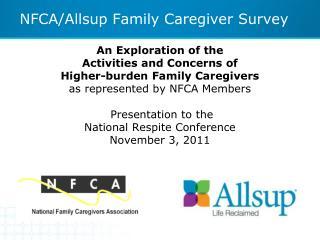 NFCA/Allsup Family Caregiver Survey
