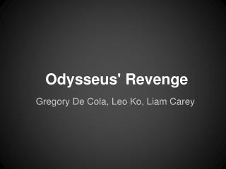 Odysseus' Revenge