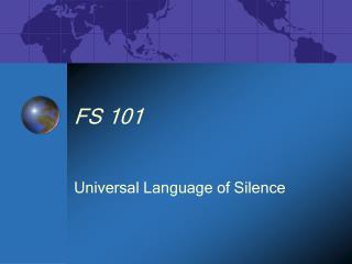 FS 101