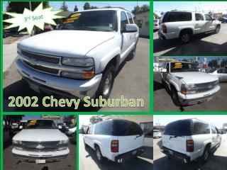 2002 Chevy Suburban