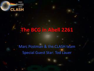 The BCG in Abell 2261