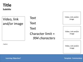 Text Text Text Character limit =  994 characters