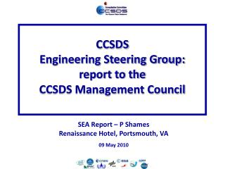 CCSDS Engineering Steering Group: report to the CCSDS Management Council