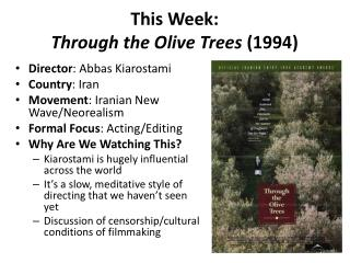 This Week:  Through the Olive Trees  (1994)