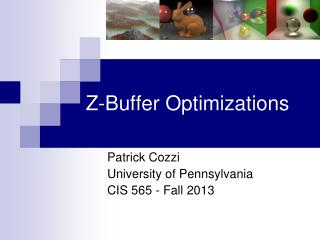 Z-Buffer Optimizations