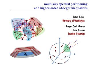 multi-way spectral partitioning and higher-order Cheeger inequalities