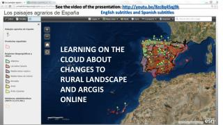 Learning on the Cloud about Changes to rural landscape and ArcGIS  Online