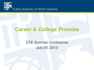 Career & College Promise