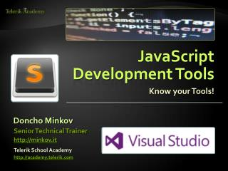 JavaScript  Development  Tools