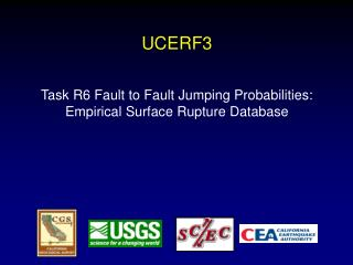 UCERF3 Task R6 Fault to Fault Jumping Probabilities: Empirical Surface  Rupture Database