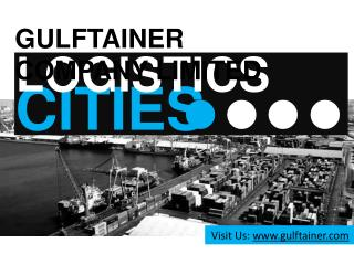 Gulftainer Company Limited United Arab Emirates: Logistics C