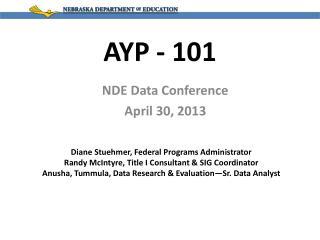 AYP - 101