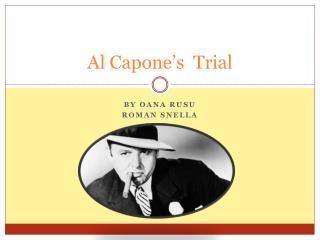 Al Capone's  Trial
