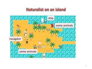 Naturalist on an island