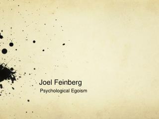 Joel Feinberg