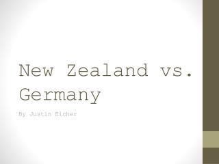 New Zealand vs. Germany