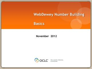 WebDewey Number Building Basics